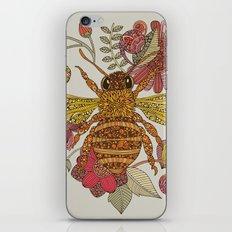 Bee awesome iPhone & iPod Skin