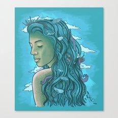 Siren of the Seas Canvas Print
