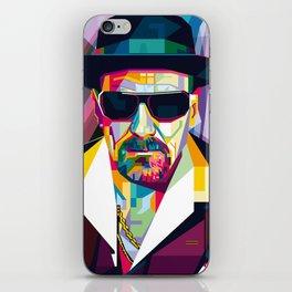 Pop Art London Vector Artist CONQR Ultimate Gangster iPhone Skin