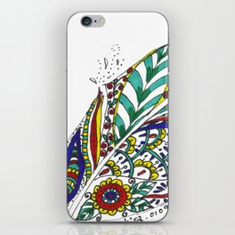 Tribal Feather iPhone Skin