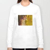 cheetah Long Sleeve T-shirts featuring Cheetah by Michelle Behar