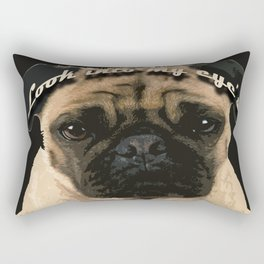 Pug is your passion and love.  Rectangular Pillow