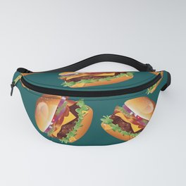 Deluxe Cheeseburger Fanny Pack