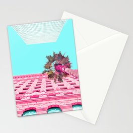 LA Palm Tree Look Up Stationery Cards