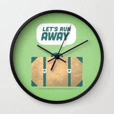 Runaway. Wall Clock