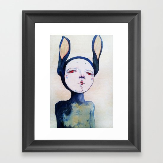 Portrait Framed Art Print