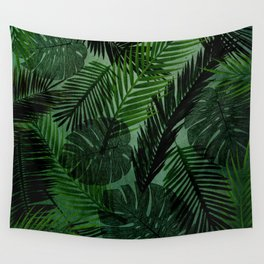 Green Foliage Wall Tapestry