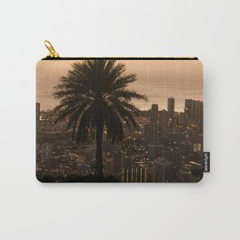 sunset over city Carry-All Pouch