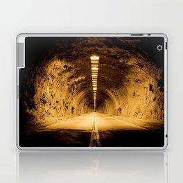 Late Hike Through Yosemite Tunnel Laptop & iPad Skin