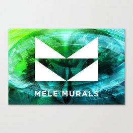 Mele Murals Pueo Canvas Print