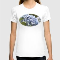 hydrangea T-shirts featuring Hydrangea  by Wealie