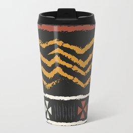African Tribal Pattern No. 84 Travel Mug