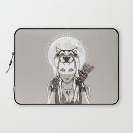 Fear Makes the Wolf... Laptop Sleeve