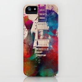 guitar art #guitar iPhone Case