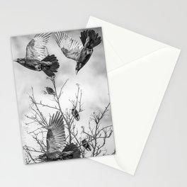 Krummar (raven) Stationery Cards
