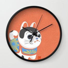 Inu Hariko Wall Clock