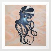 goddess Art Prints featuring Goddess by Janss