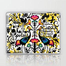 Wycinanki Folk Art Laptop & iPad Skin