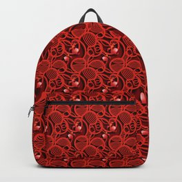 Cherry Tomato Hearts Backpack