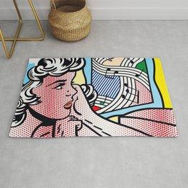 Roy Lichtenstein Girl Rug