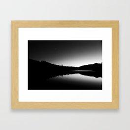 Dark Sunrise Framed Art Print