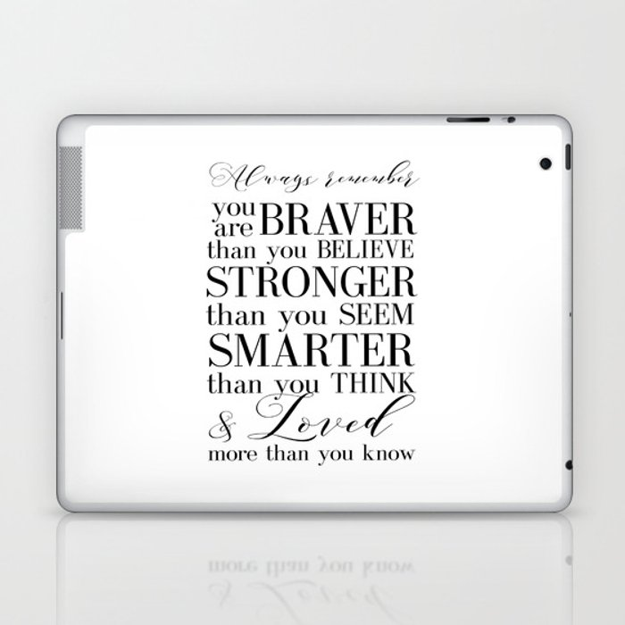 Inspirational Quote Winnie The Pooh Quote Print Typography Print