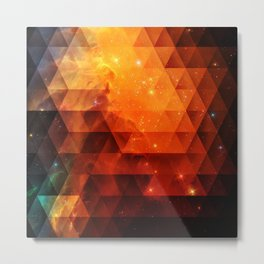 Galaxies II Metal Print