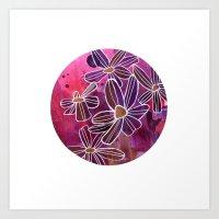 Languid Cosmos Art Print