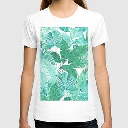 Tropical Leaf Green T-shirt