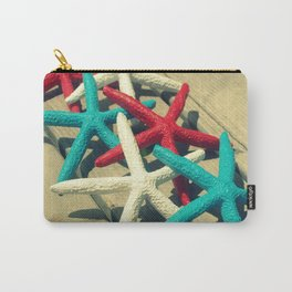 Patriotic Starfish Carry-All Pouch