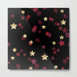 The night sky. Stars Metal Print