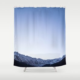 Daylight Moon Ridge Shower Curtain
