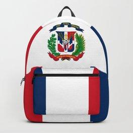 Bandera de la Republica Dominicana Backpack