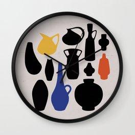 West German Ceramics Wall Clock