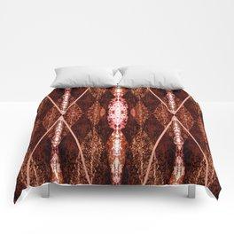 TEXTURED ARGYLE Comforters