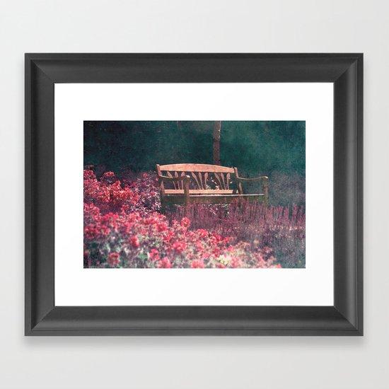 rêve bancaire Framed Art Print
