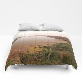 Misty Assateague Island Marsh Comforters