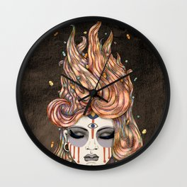 Died Young, Stayed Pretty Wall Clock