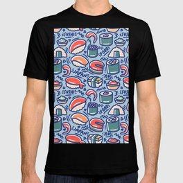 Retro Delicious Sushi Party T-shirt