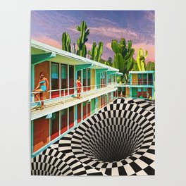 Time Warp Motel Poster