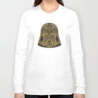 darth vader Long Sleeve T-shirts featuring Darth Vader by Nathan Owens
