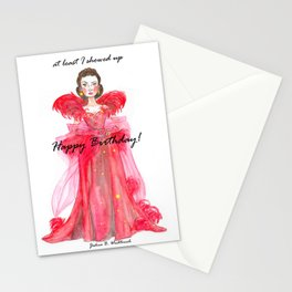 Scarlet O'hara: Haters Gonna Hate by Joshua B. Wichterich Stationery Cards