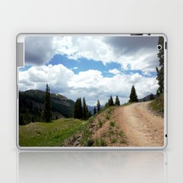 The Road of Life: Venture to Learn What's Around the Next Bend, and Prepare for Stormy Skies Laptop & iPad Skin