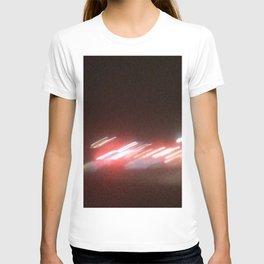 Abstracte Light Art in the Dark Version 38 T-shirt
