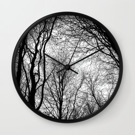 Tree Silhouette Series 6 Wall Clock