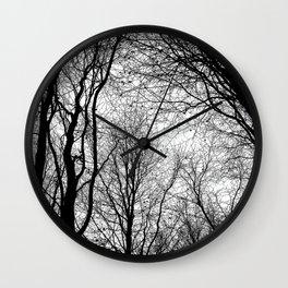 Tree Silhouette Series 6 Wall Clock