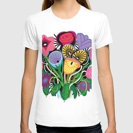 Yelapa Flowers T-shirt