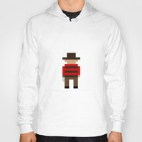 freddy krueger Hoodies featuring Freddy Krueger / A Nightmare on Elm Street by Pixel Icons
