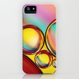 H20 & Oil III iPhone Case