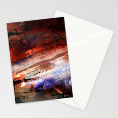 war and ruins Stationery Cards